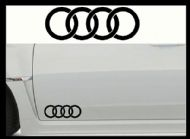 AUDI CAR BODY DECALS